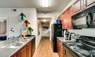Kitchen, Maverick Place, 2