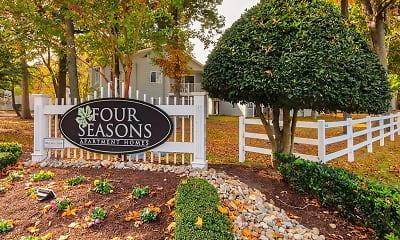 Community Signage, Four Seasons, 2