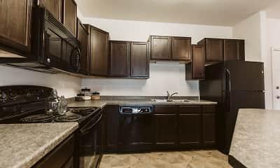 Kitchen, Silver Lake Apartments, 1