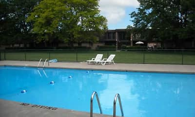 Pool, Deepwood North Apartments, 2