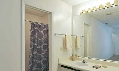 Bathroom, Village Townhomes At Lake Orlando, 2
