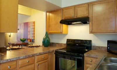 Kitchen, Brandywine Court, 1