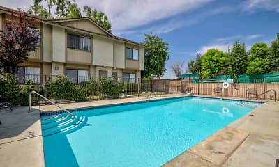 Pool, Park Place Townhomes, 1