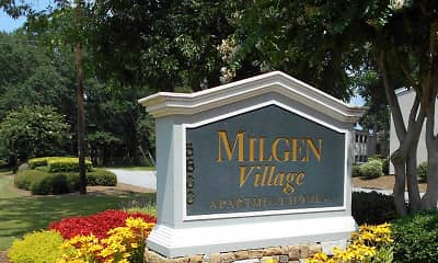 Community Signage, Milgen Village, 0