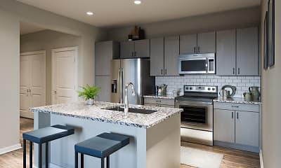 Kitchen, The Element at Watermark, 1
