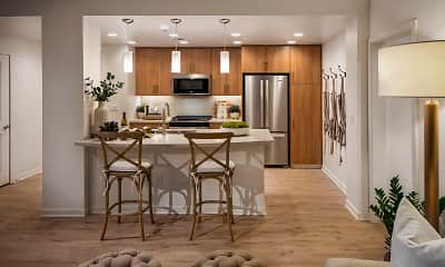 Kitchen, The Village at Irvine Spectrum Center, 0