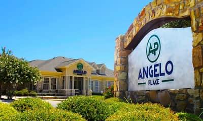 Community Signage, Angelo Place, 2