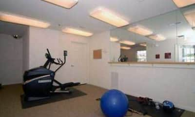 Fitness Weight Room, Woodwind Villa Apartments, 2