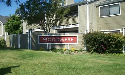 Community Signage, Woodmere Apartments, 2