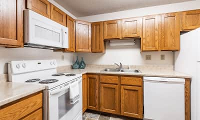 Kitchen, Woodridge Apartments, 0