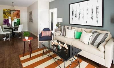 Living Room, Ansley at Roberts Lake, 1