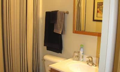 Bathroom, Wynhaven Apartments, 2