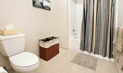 Bathroom, College Suites at Washington Square - Per Bed Lease, 2