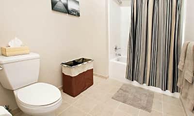 Bathroom, College Suites at Washington Square - Per Bed Lease, 2