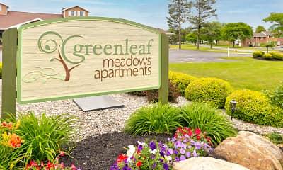 Community Signage, Greenleaf Meadows, 2