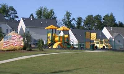 Playground, Hedingham Townhomes, 1