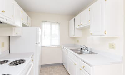 Kitchen, Windsor Gardens Apartments, 2