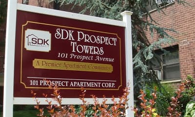 Community Signage, SDK Prospect Towers, 1