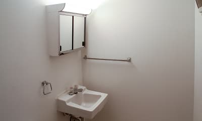 Bathroom, Colony Bay Apartments, 2
