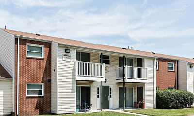 Building, Spring Creek Apartments, 1