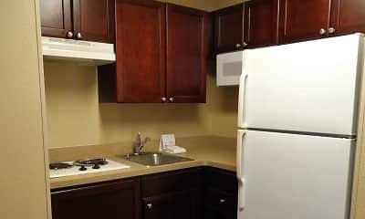Kitchen, Furnished Studio - Austin - North Central, 1