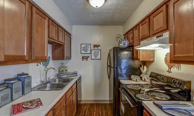 Kitchen, Lake Eden Apartments and Townhomes, 1
