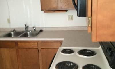 Kitchen, Summit Apartments, 0