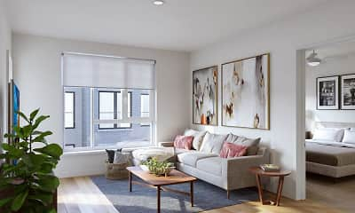 Living Room, Legacy at Fitz, 1