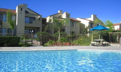 Pool, Cottonwood Ranch Apartments, 0