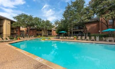 Pool, Springfield Apartments, 0
