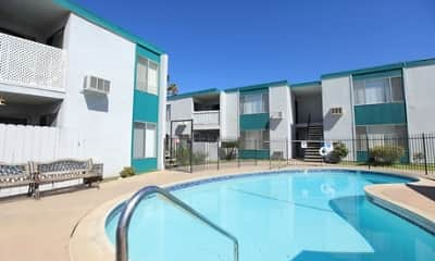 Pool, Ballantyne Apartments, 0