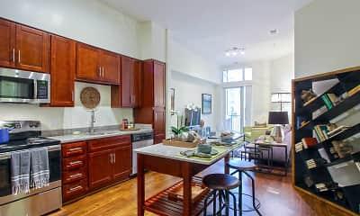 Kitchen, Belvoir Square, 1