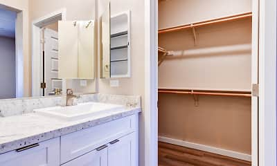 Bathroom, Silverado Apartments, 2