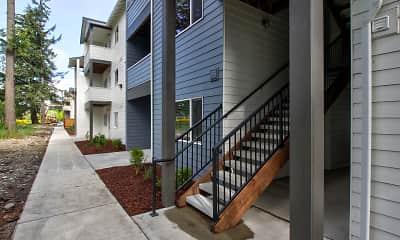 Building, Whitney Lane Apartments, 1
