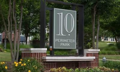 Community Signage, 10 Perimeter Park, 2