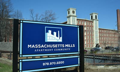 Community Signage, Massachusetts Mills, 0