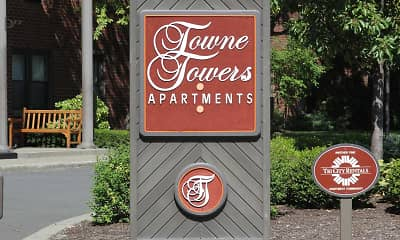 Community Signage, Towne Towers, 2