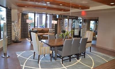 Dining Room, Vegas Towers, 2