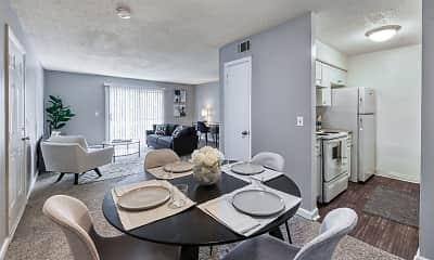 Dining Room, Villas at Panthersville, 0
