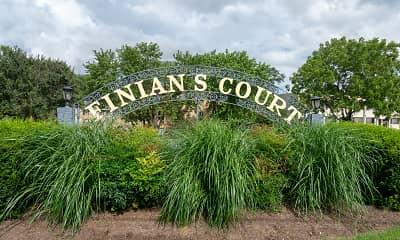 Community Signage, Finian's Court, 0