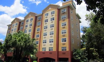 Building, Furnished Studio - Miami - Coral Gables, 1