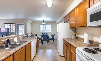 Kitchen, Quail Springs Apartments, 0