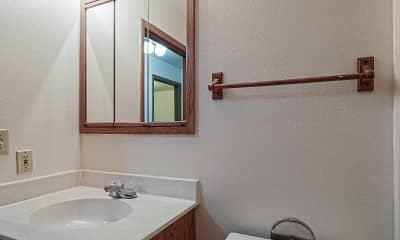 Bathroom, Seminole Court, 2