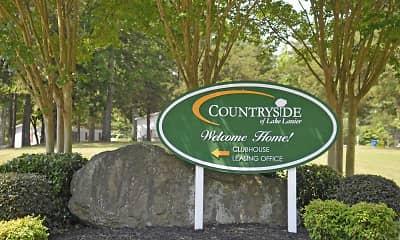 Community Signage, Countryside Village of Lake Lanier, 2