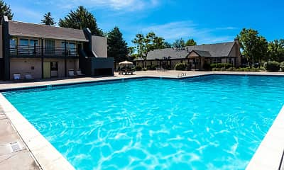 Pool, Wentworth Apartments, 1