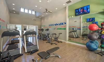 Fitness Weight Room, Preserve at Essex Farms, 2