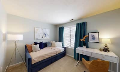 Bedroom, Woodbridge Apartments of Fort Wayne, 2