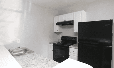 Kitchen, Gate City Flats, 1