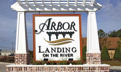Community Signage, Arbor Landing, 2