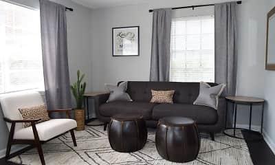 Living Room, Brandywine Townhomes, 0